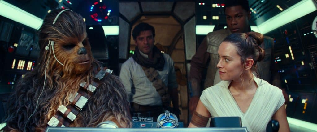 A scene from Star Wars: The Rise of Skywalker.