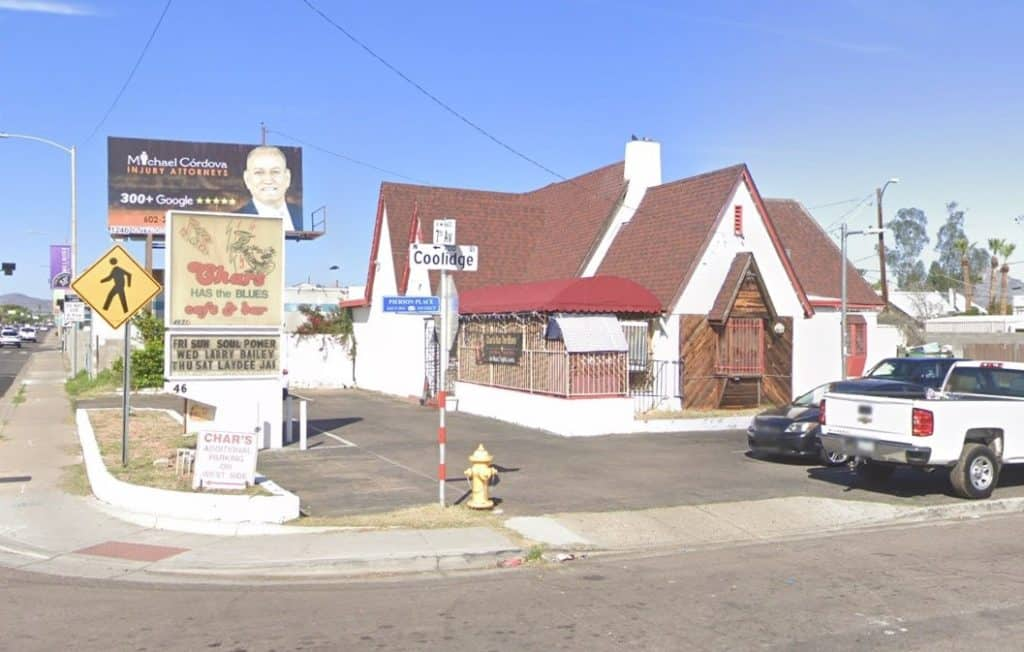 Char's Has the Blues Is Up For Sale
