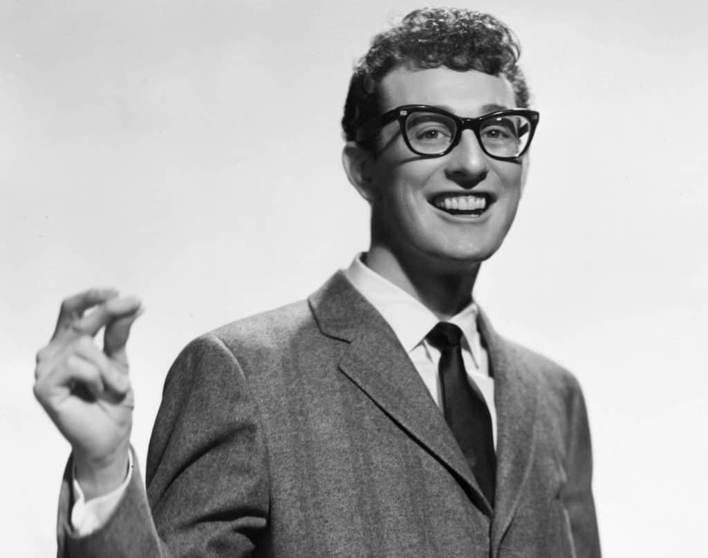Buddy Holly, seen here in a promo picture for Brunswick Records, was just 22 when he died 62 years ago today.